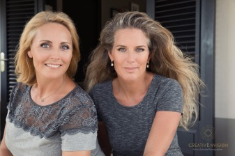 Femke & Mandy. Owners Q-Villas